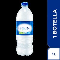 AGUA CRISTAL 1 L