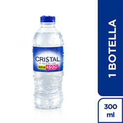 AGUA CRISTAL 300 ML PET