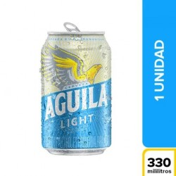 AGUILA LIGHT 330 ML LAT