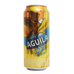 AGUILA LIGTH 473 ML LAT
