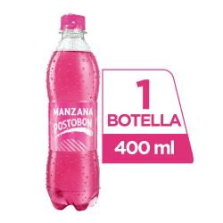 MANZANA 400 ML PLASTICA
